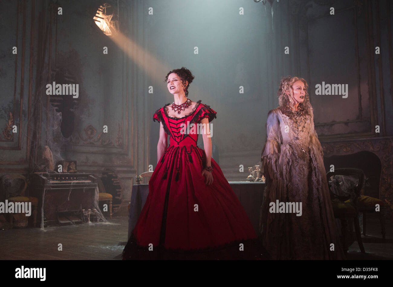 The Play Great Expectations Adapted From A Charles Dickens Novel Stock Photo Alamy