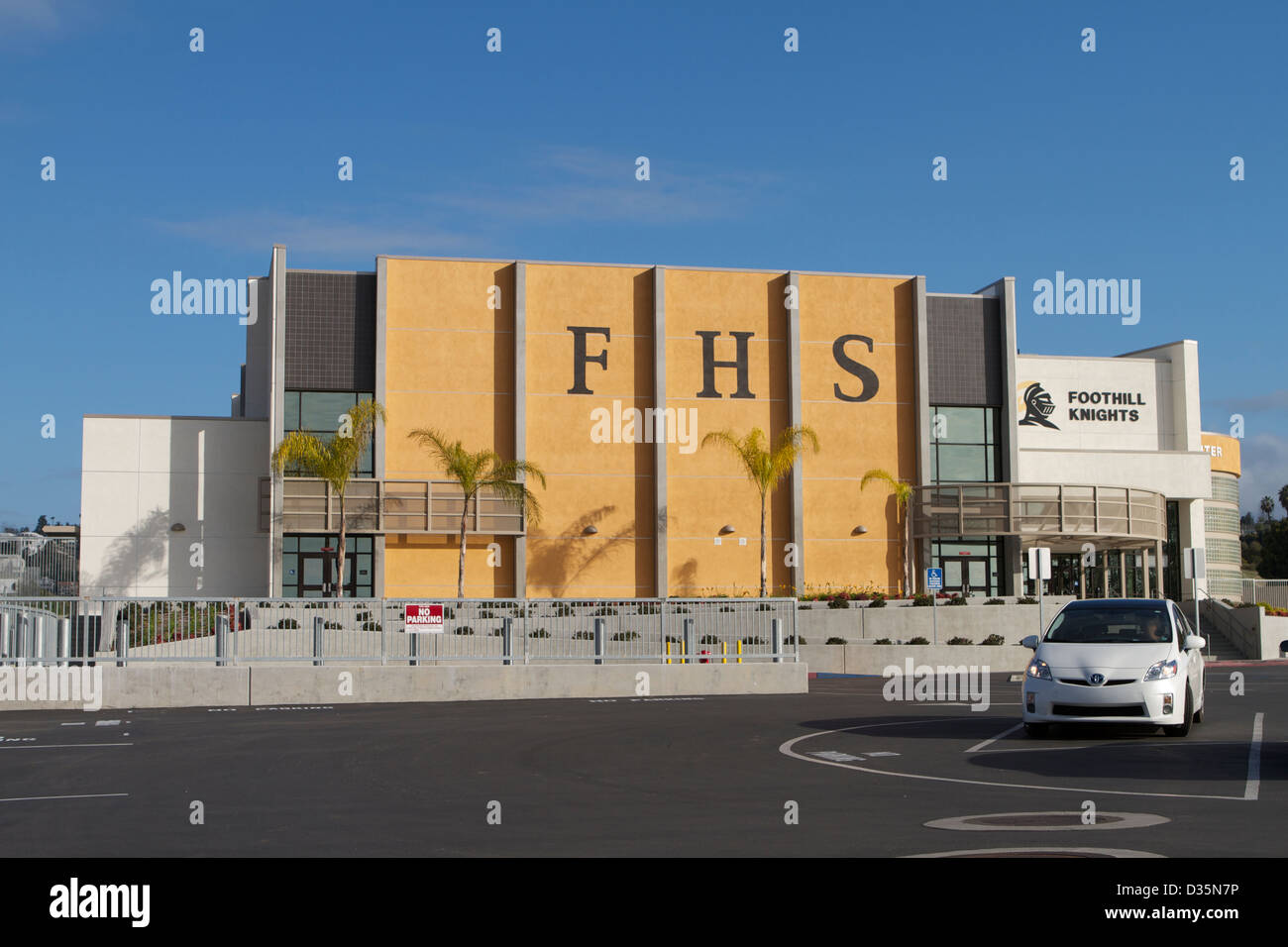 Foothill High School, Santa Ana, California, USA - Stock Image