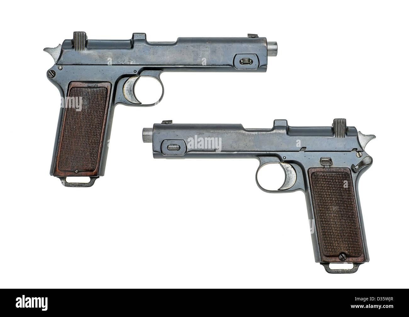 austrian pistol Steyr 1916 Stock Photo: 53604959 - Alamy