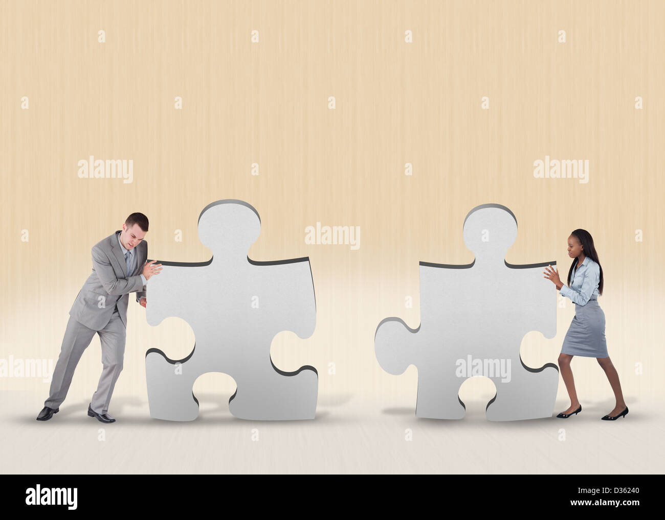 Business problem solving - Stock Image