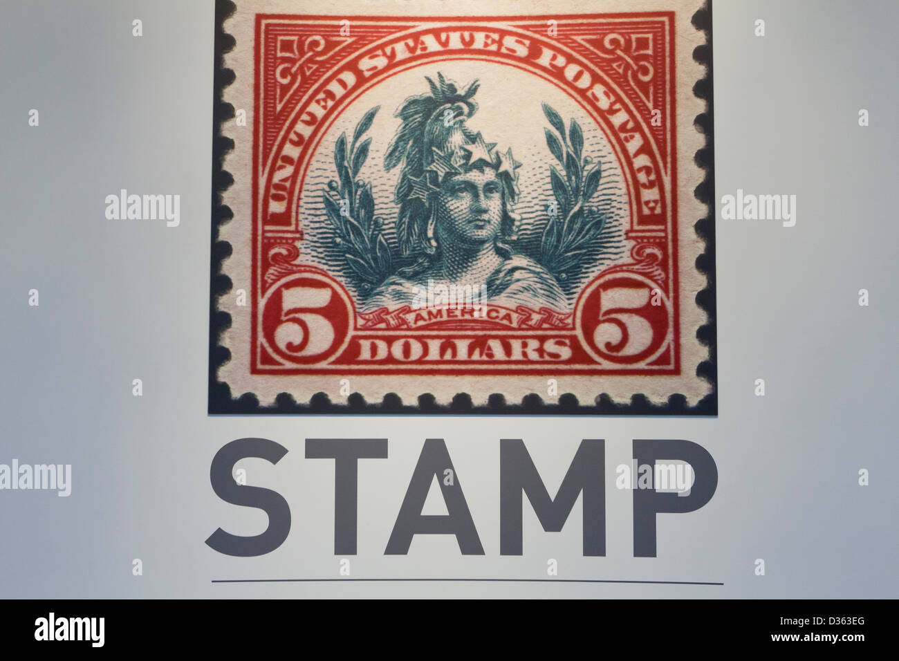 Stamp - Stock Image