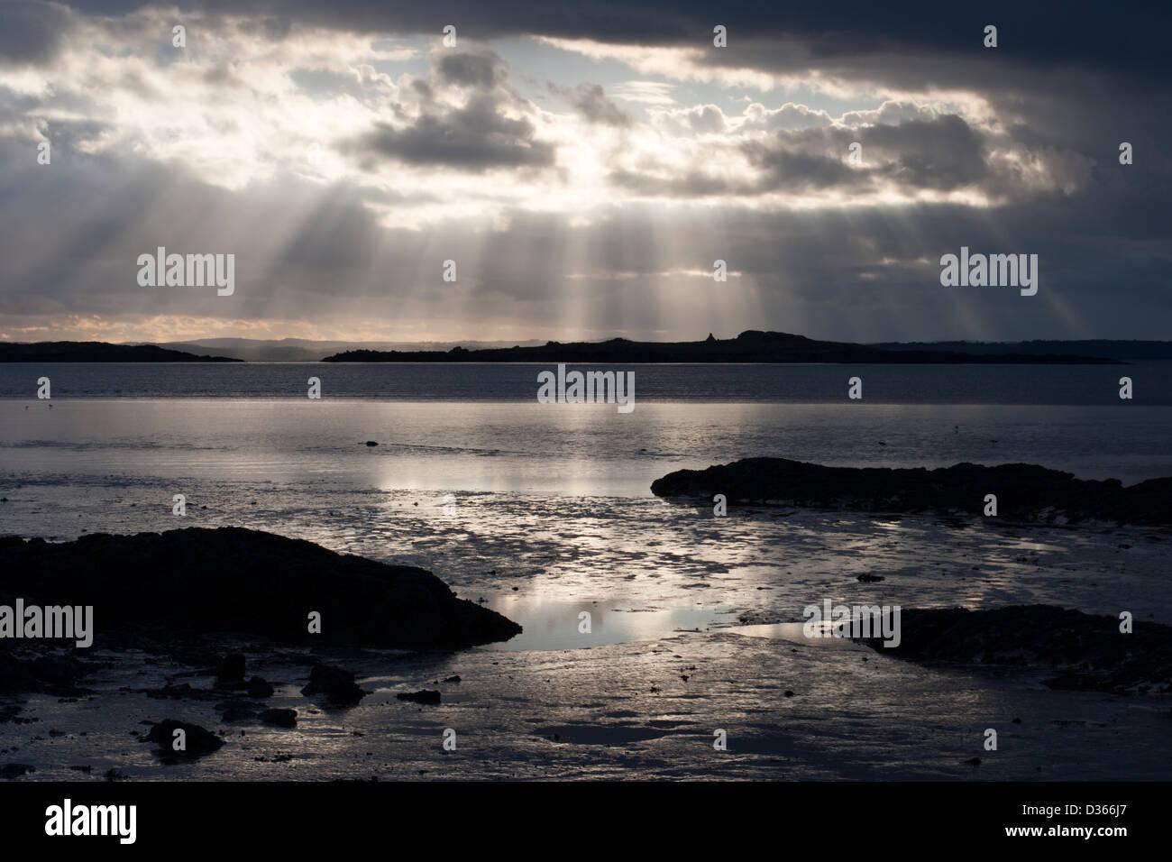Carrick Shore, Dumfries and Galloway, Scotland Stock Photo