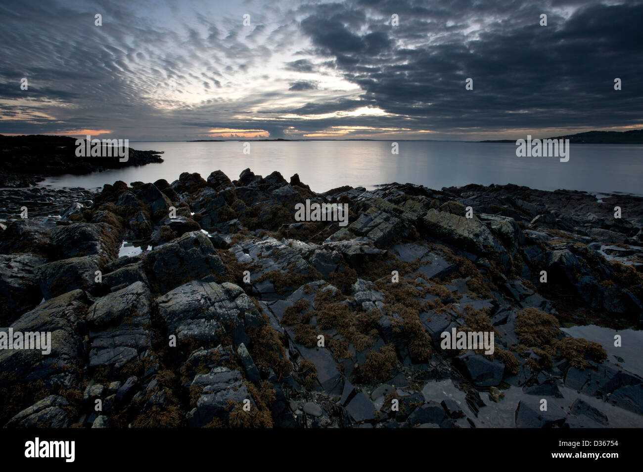 Carrick Shore, Dumfries and Galloway, Scotland - Stock Image