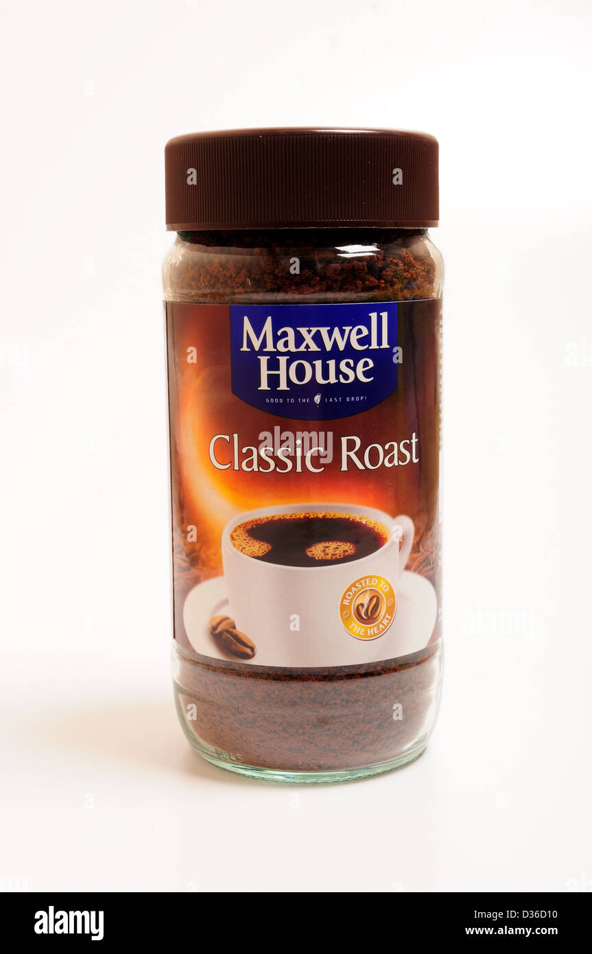 Maxwell Houseclassic Roast Coffee Stock Photo 53617004 Alamy