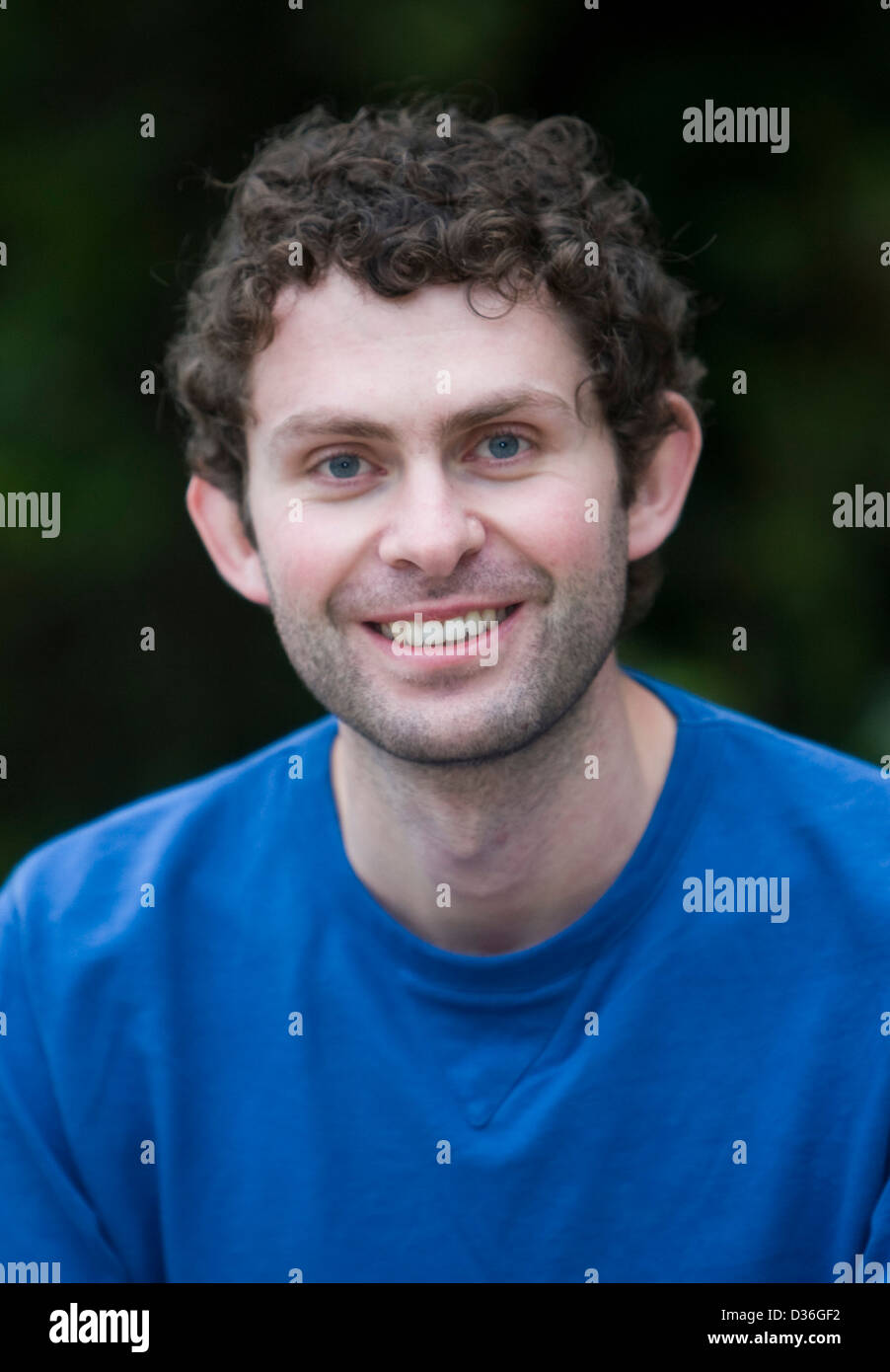 04.11.08. Ross Raisin, finalist in the Dylan Thomas Prize for young writers. - Stock Image