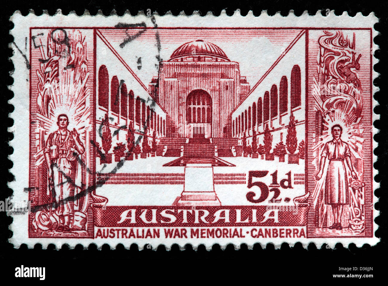 Canberra stamps