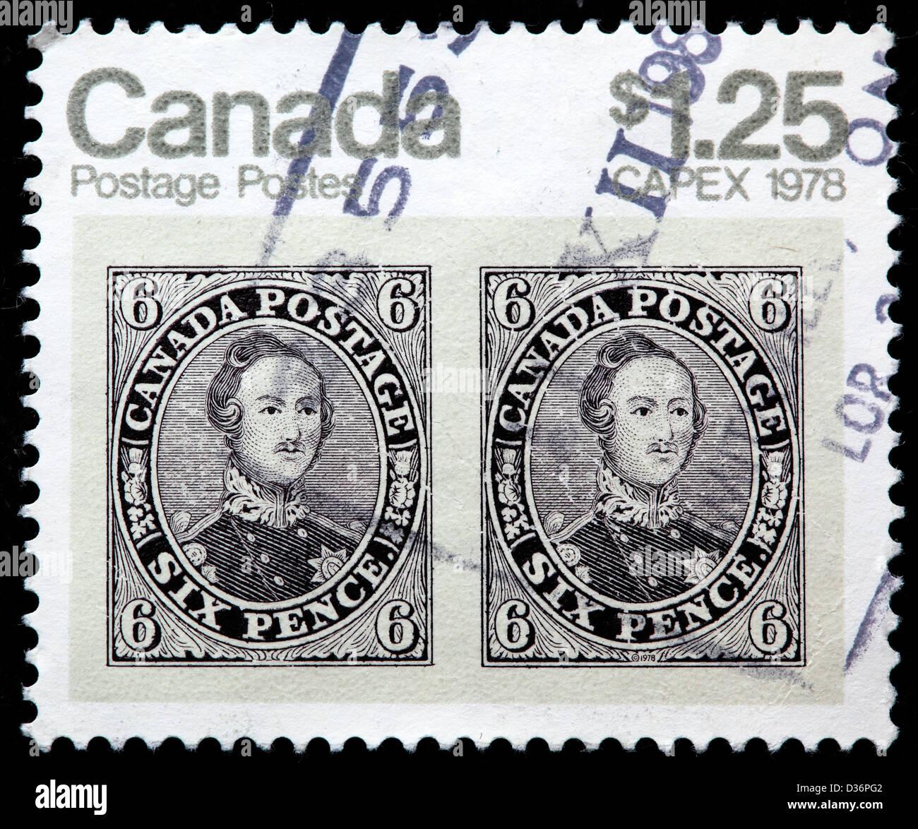 Vintage postage stamp, postage stamp, Canada, 1978 - Stock Image