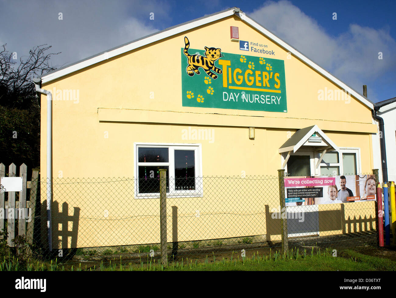 a childrens day nursery in uk - Stock Image