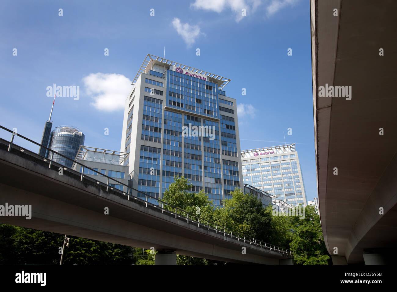 Essen, Germany, Evonik AG buildings - Stock Image