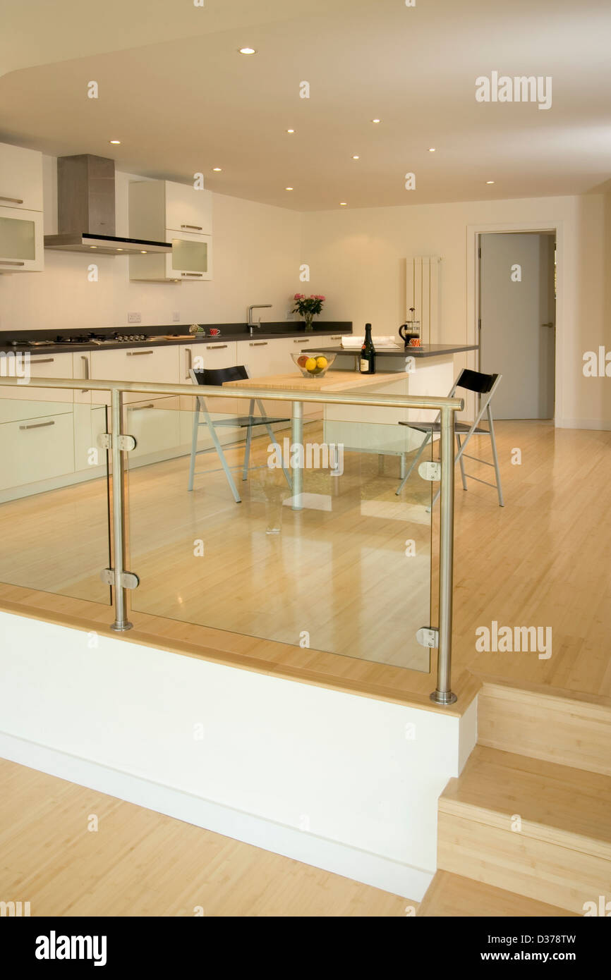 Split Level Kitchen Remodel Photos: Split Level Dining Room In Stock Photos & Split Level