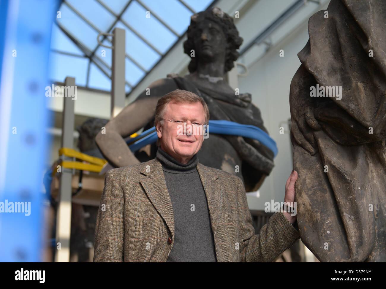 Dean and spokesman of the 'Stiftung Berliner Schloss - Humboldtforum' ('Berlin Castle foundation - Hmboldt forum') Stock Photo