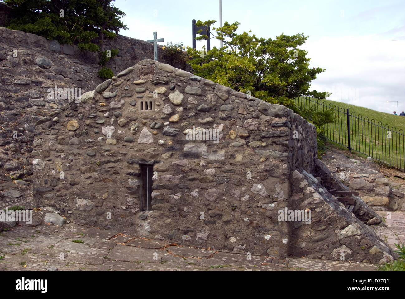 WALES; CONWY; RHOS-ON-SEA; EUCHARIST CHURCH OF ST. TRILLO - Stock Image