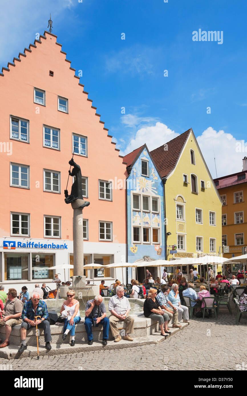 Füssen, Ostallgäu, Bavaria, Germany - Stock Image