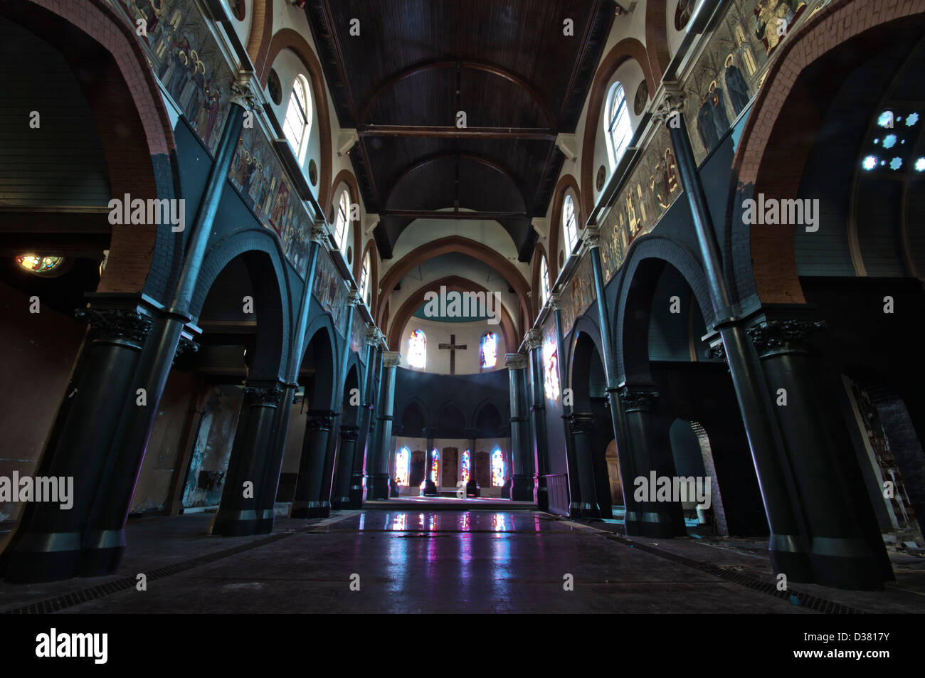 Catholic Seminary, soon to be redeveloped into modern luxury homes. - Stock Image