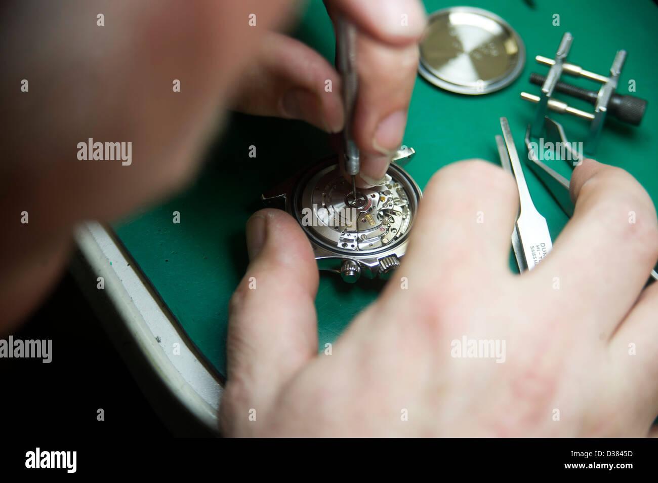 Horology - Stock Image
