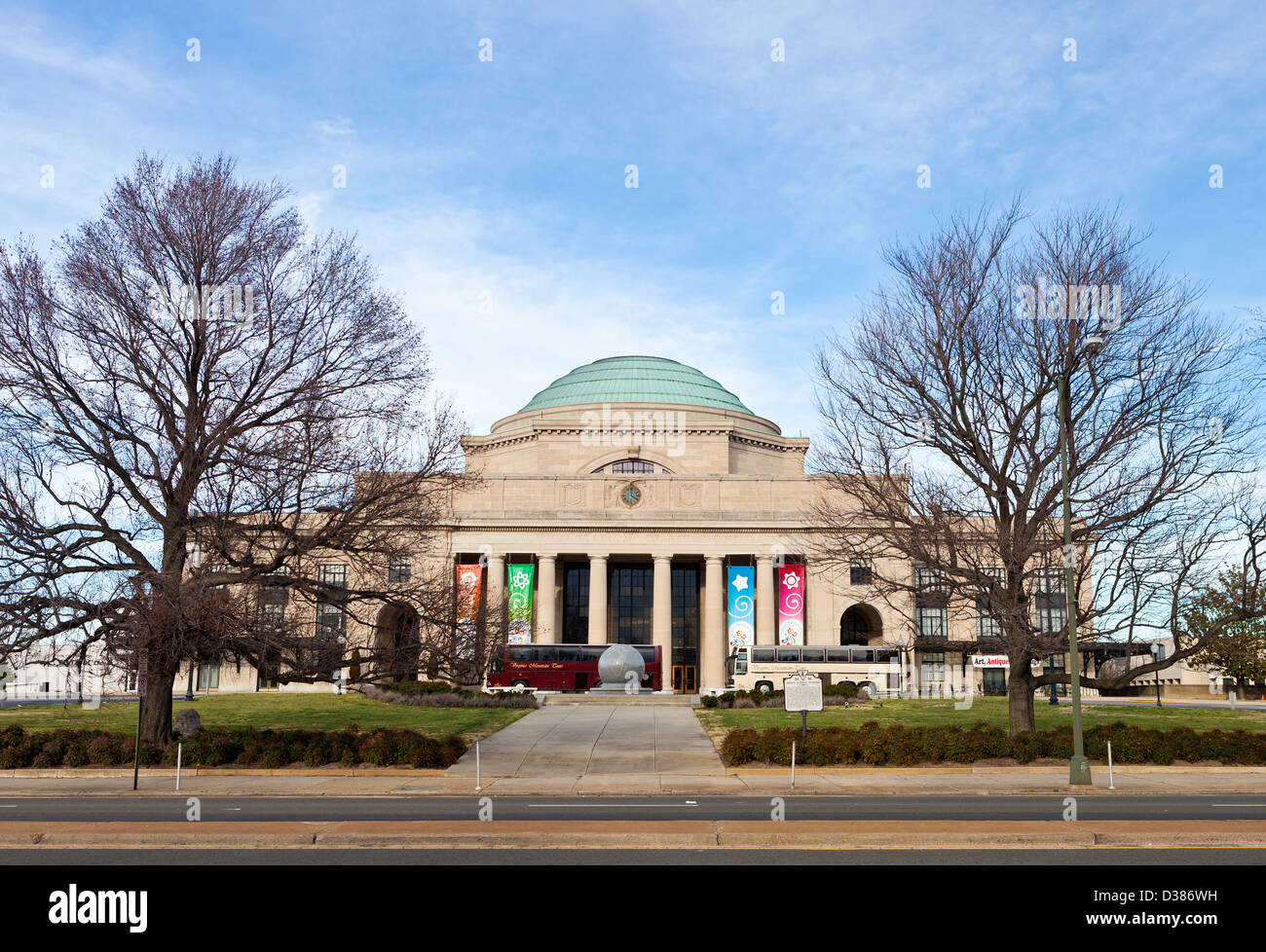 The Science Museum Of Virginia In Richmond, Virginia, USA. - Stock Image