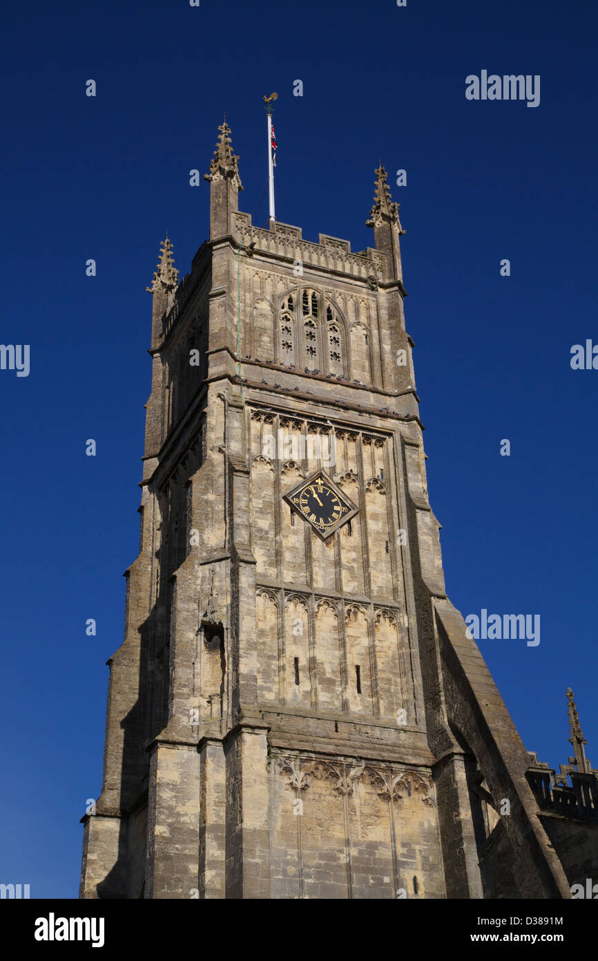 Cirencester Parish Church Gloucestershire England On the 11/11/2012 Poppy Day Parade - Stock Image