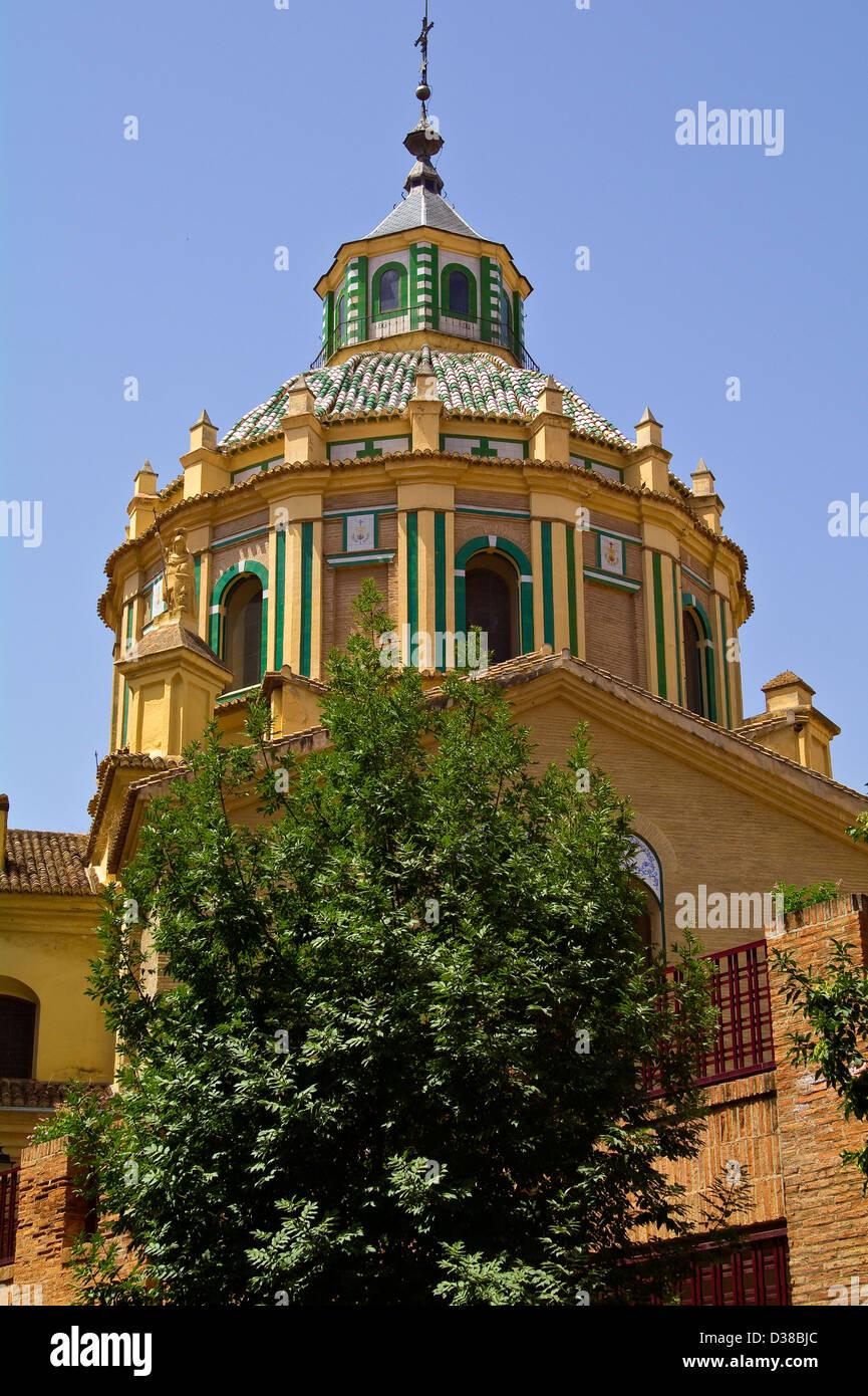 Hospital Church of San Juan de Dios in Granada, Andalucia, Spain - Stock Image
