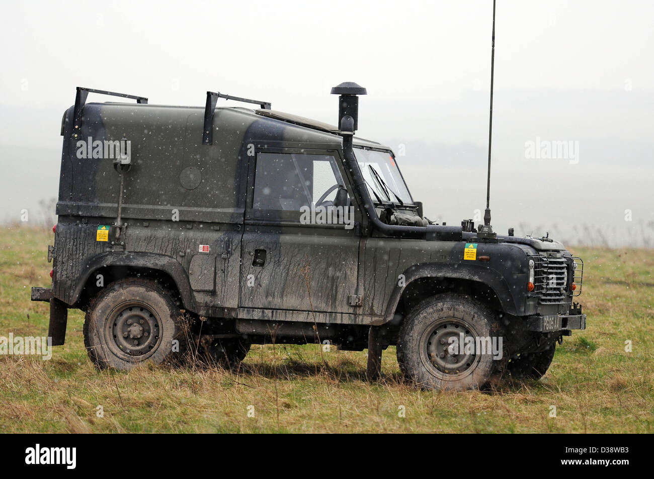 military land rover stock photos military land rover. Black Bedroom Furniture Sets. Home Design Ideas