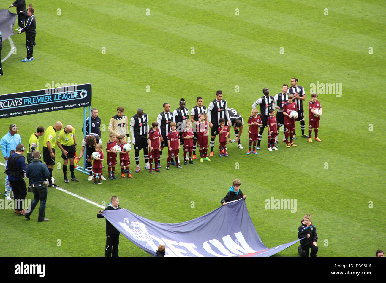 Newcastle United v Manchester City at St James's Park, Newcastle, 06/05/12 - Stock Image
