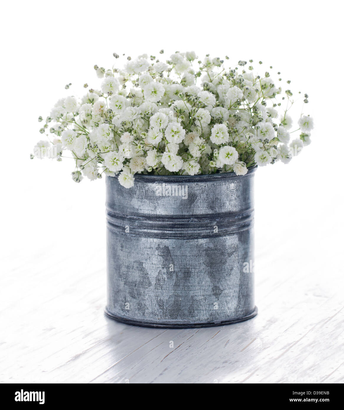 Bouquet of white gypsophila babys breath flowers on wooden stock bouquet of white gypsophila babys breath flowers on wooden background mightylinksfo