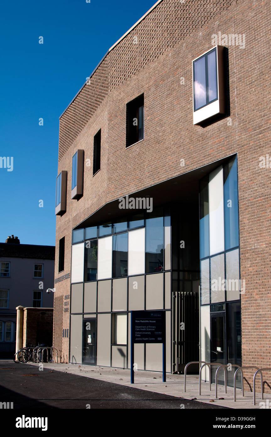 New Radcliffe House, Jericho, Oxford, UK - Stock Image