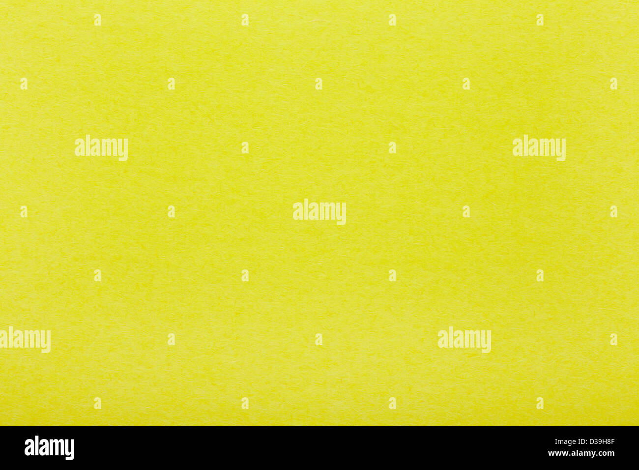 Yellow paper texture background - Stock Image
