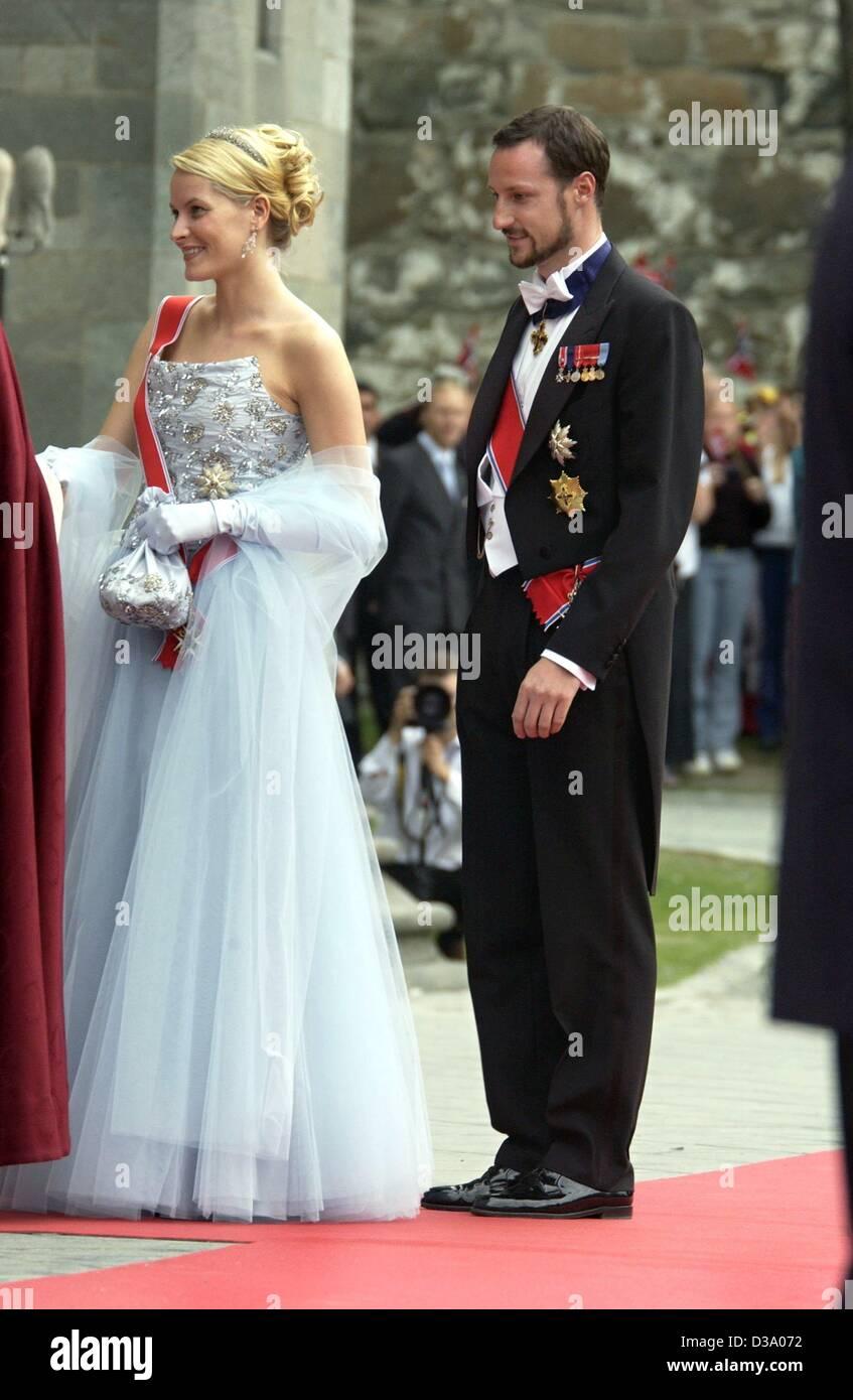 Dpa Crown Princess Mette Marit And Crown Prince Haakon Of Norway