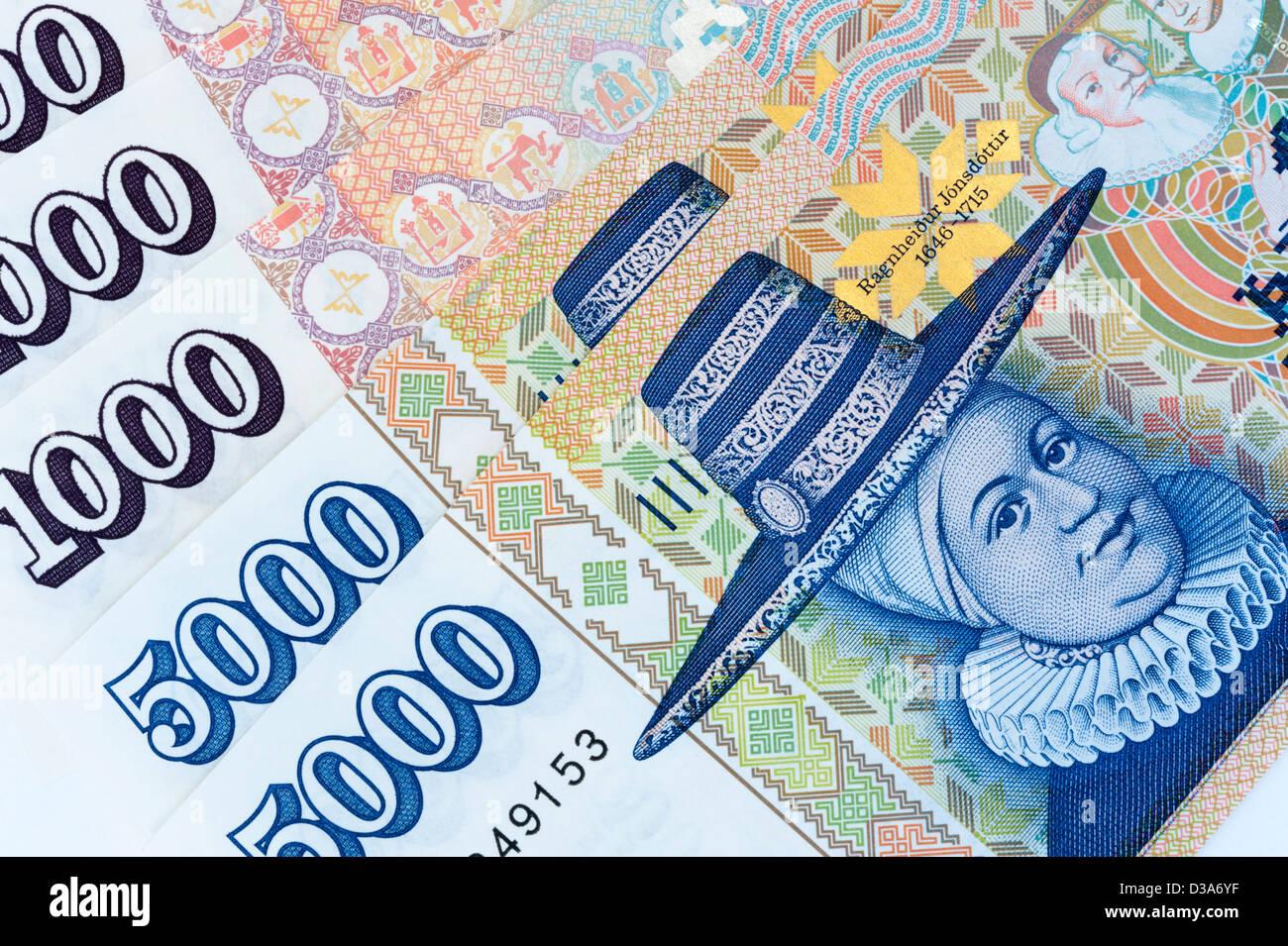 Icelandic Krona Stock Photos Icelandic Krona Stock Images Alamy
