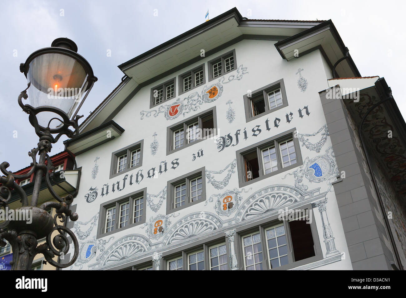 Architecture in Lucerne, Switzerland - Stock Image
