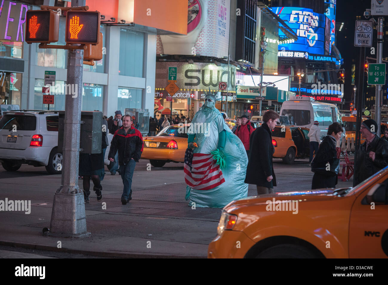 costumed characters swarm times square in new york stock photo rh alamy com