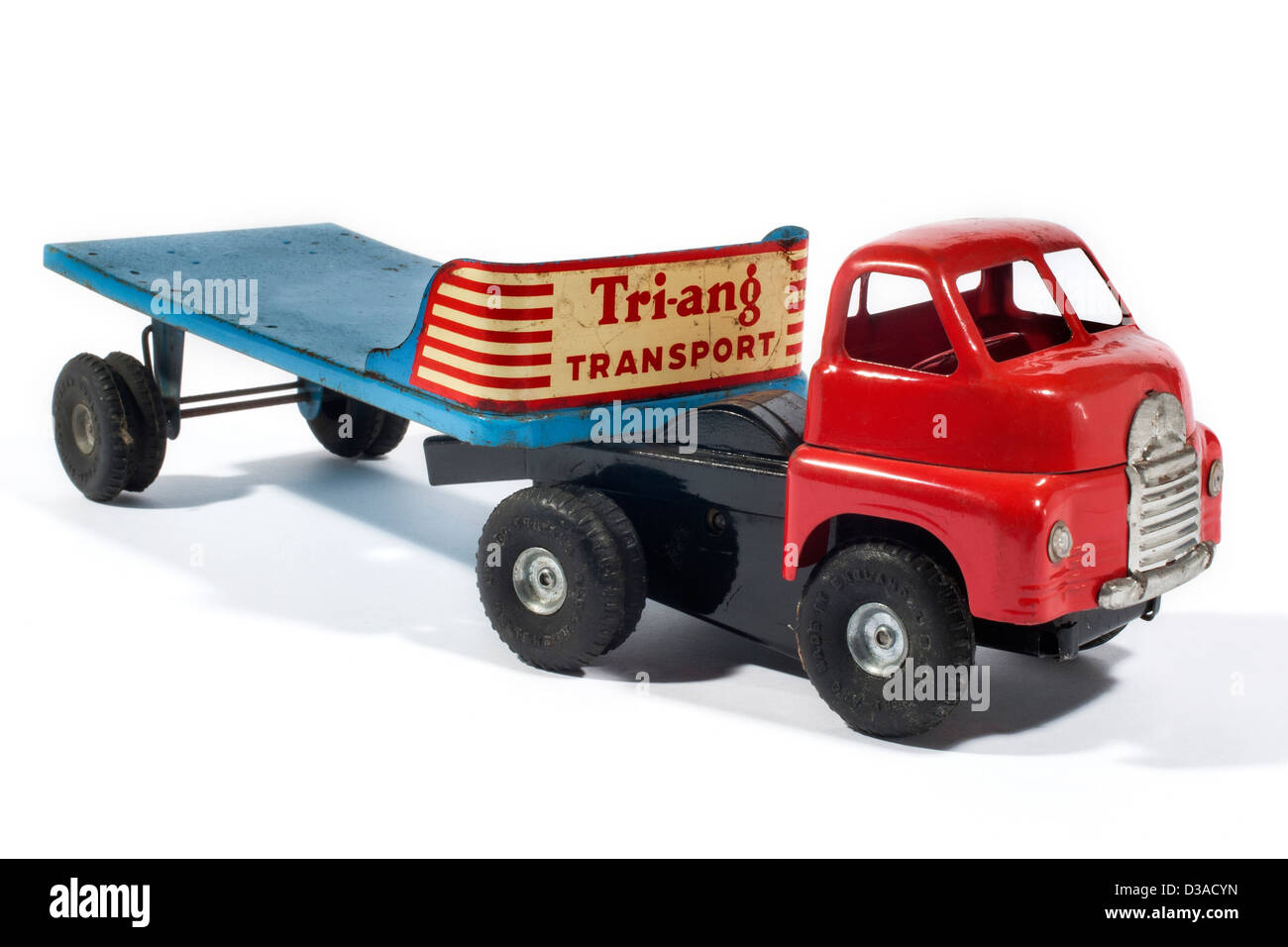 Tri-ang Transport flatbed lorry - Stock Image