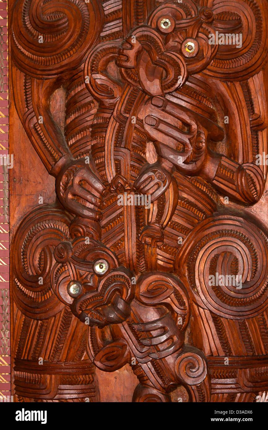 Waitangi North Island New Zealand travel tourism - Stock Image