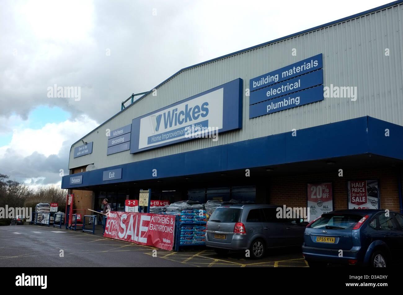 wickes diy store sevenoaks kent uk 2013 Stock Photo: 53705539 - Alamy