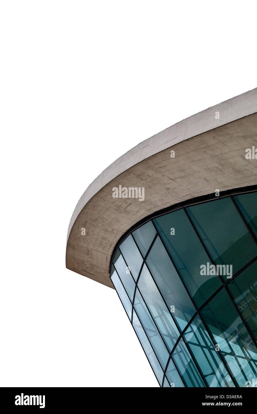 Eero Saarinen-designed TWA terminal at JFK airport. - Stock Image