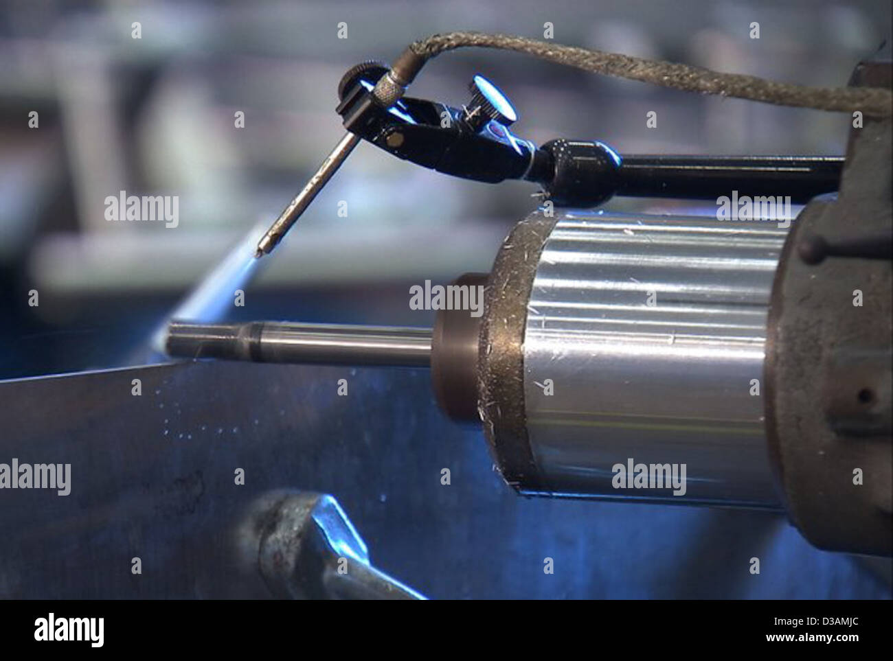 Friction Stir Welding and Ares Rockets (NASA, Ares, 1/30/09) - Stock Image