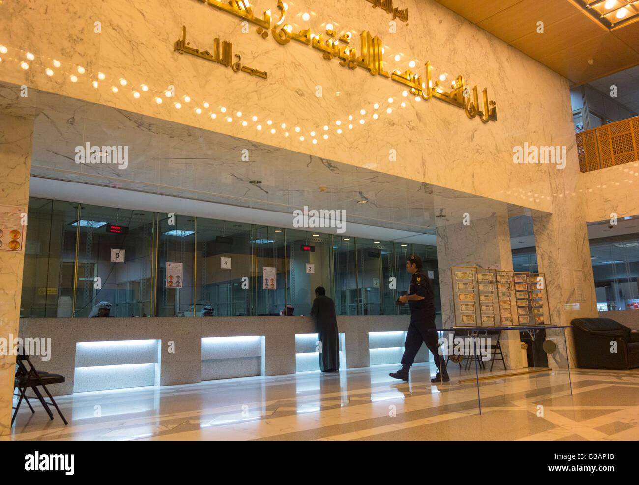 Bank Lobby Customers