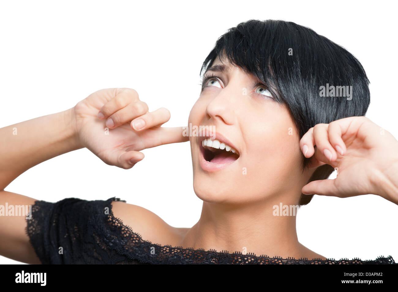 Noise - Stock Image