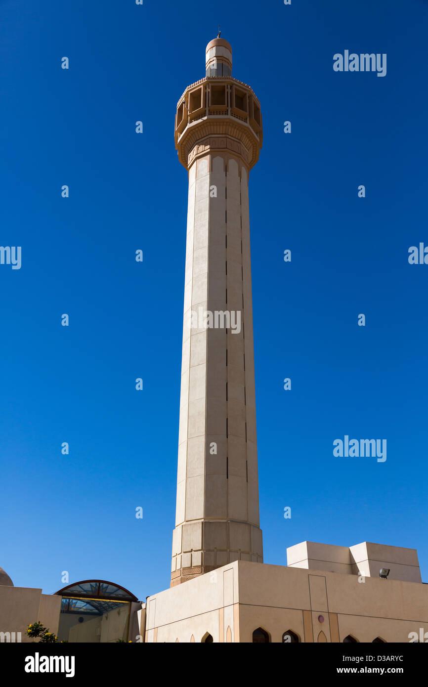 minaret, Grand Mosque, Masjid al-Kabir, Kuwait City, Kuwait - Stock Image