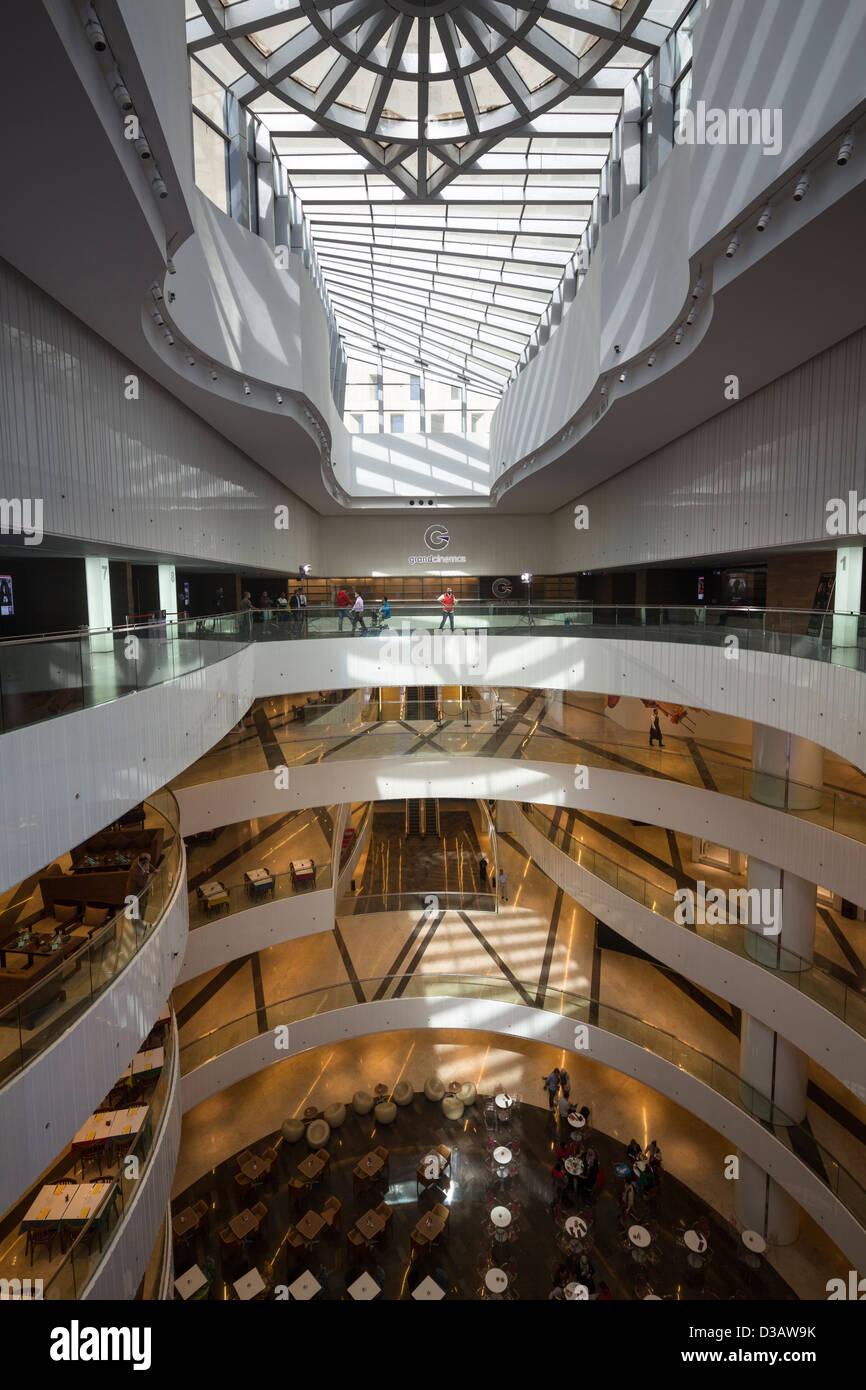 Al Hamra mall, Al Hamra Tower, Kuwait City, Kuwait - Stock Image