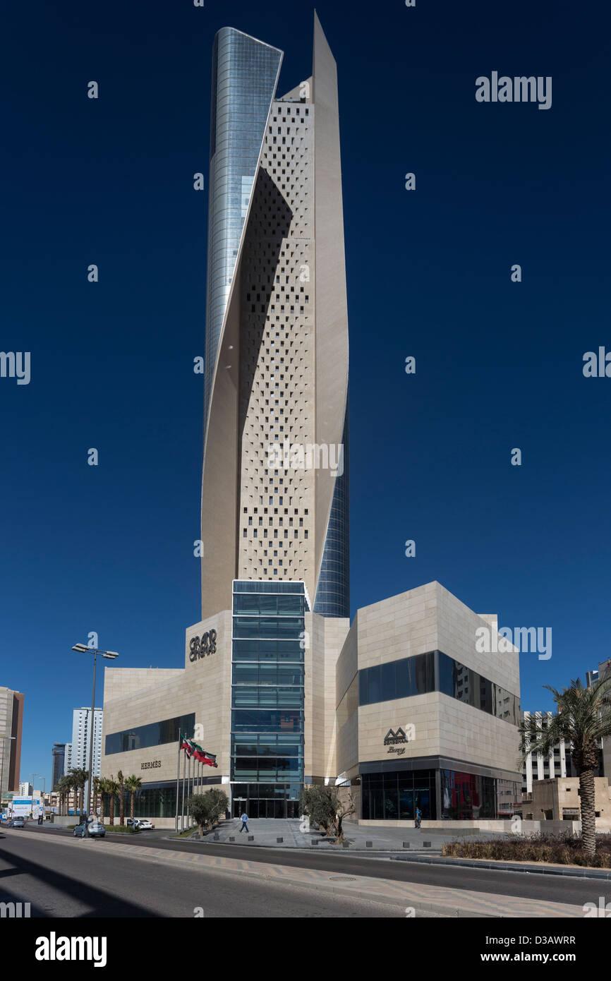 Al Hamra Tower, Kuwait City, Kuwait - Stock Image