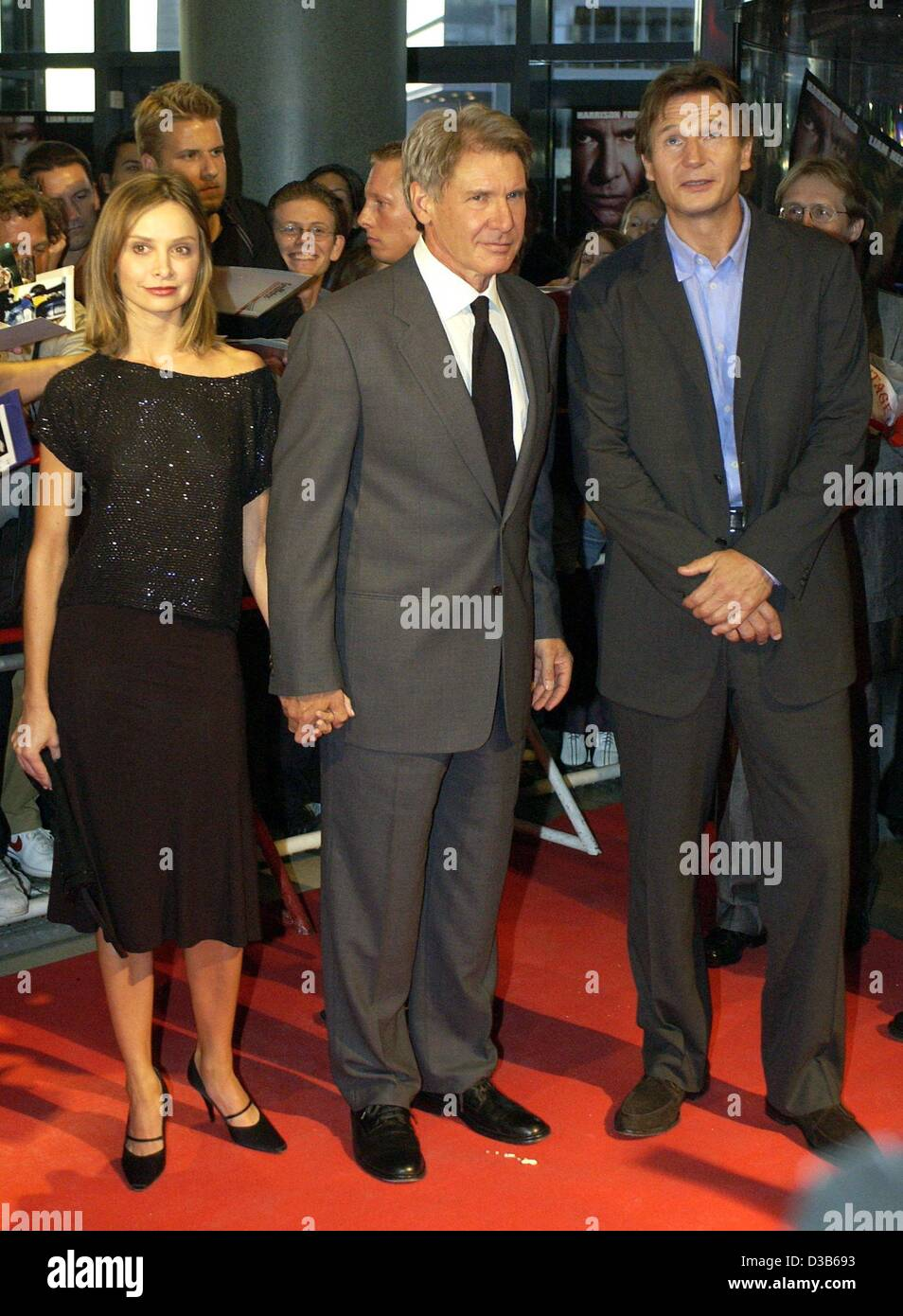 Harrison Ford And Calista Flockhart Stock Photos