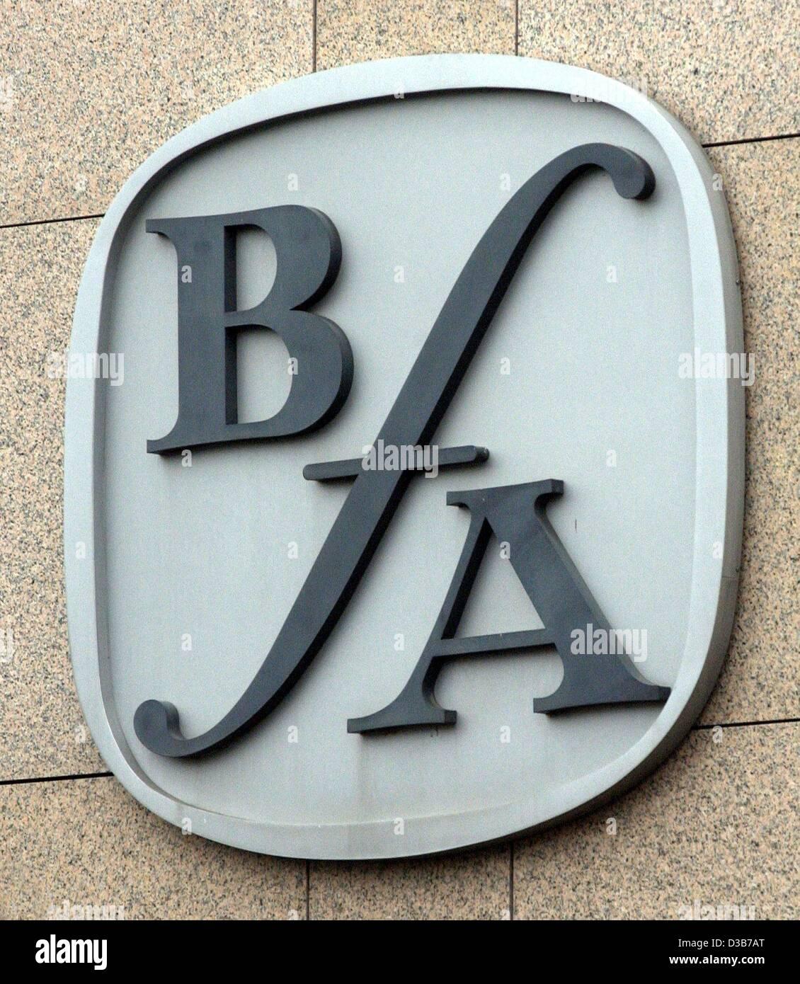 (dpa) - The logo of the federal insurance institution for employees (Bundesversicherungsanstalt fuer Angestellte, Stock Photo