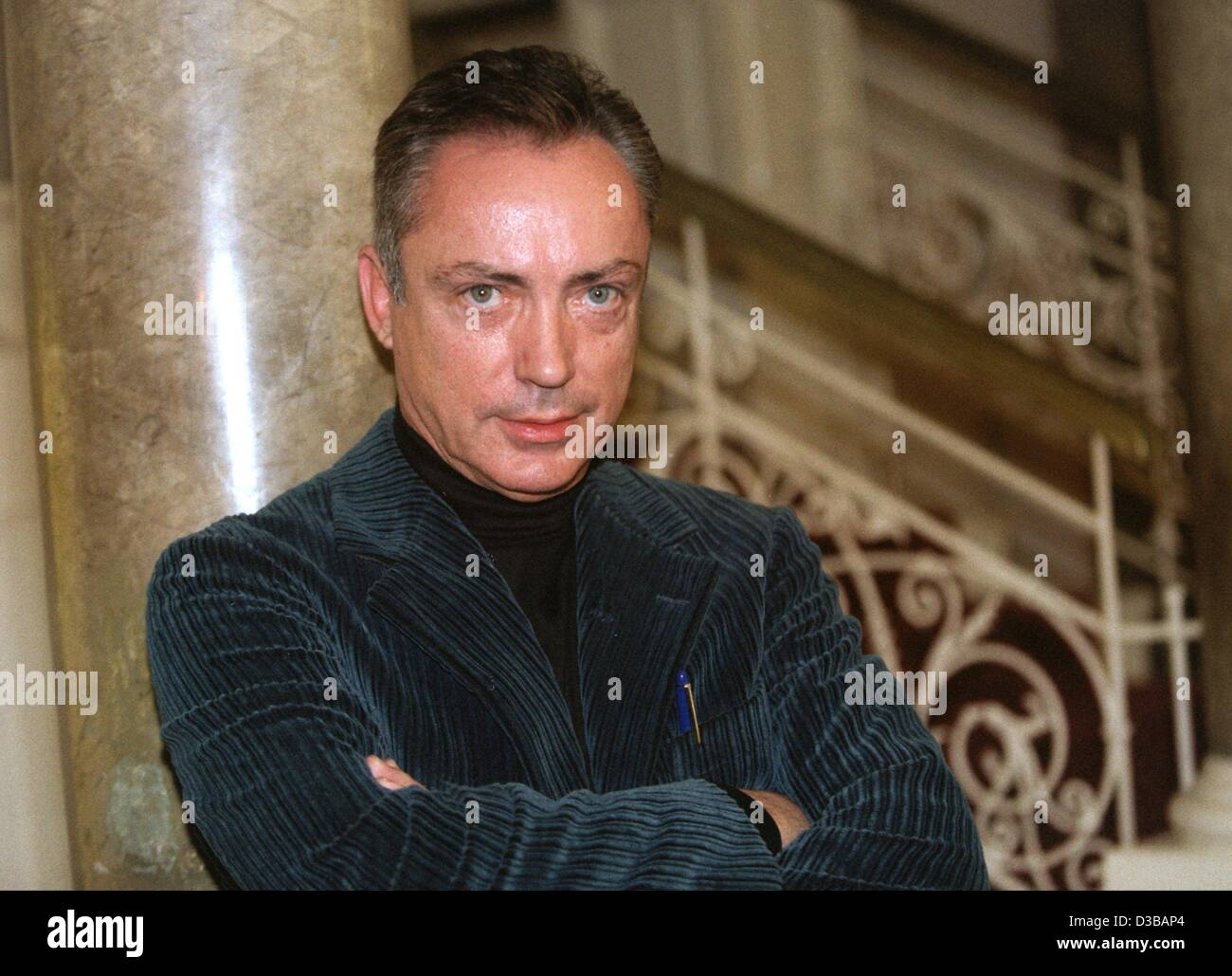 (dpa files) - German actor Udo Kier ('Armageddon', 'End of Days'), pictured at the presentation - Stock Image