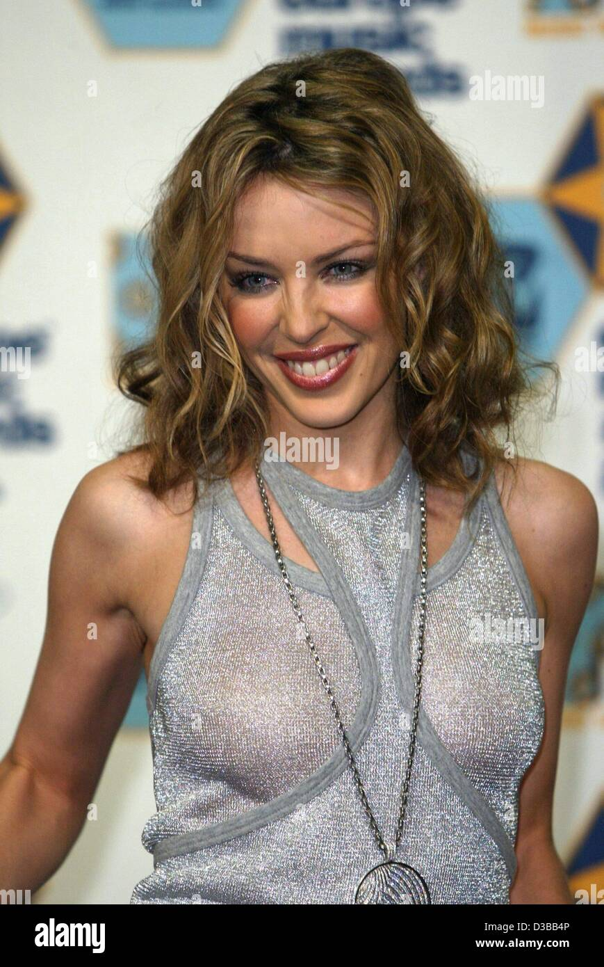Australian Singer Kylie Minogue Is All Smiles