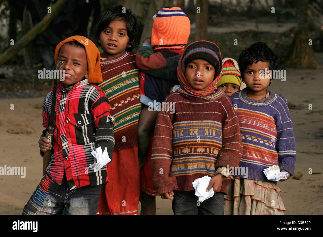 Bangladeshi children, Bangladesh - Stock Image