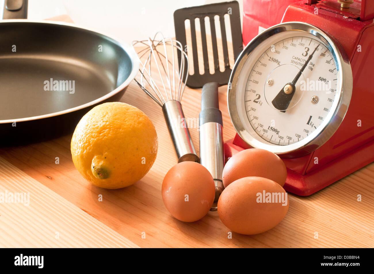 Baking - Stock Image