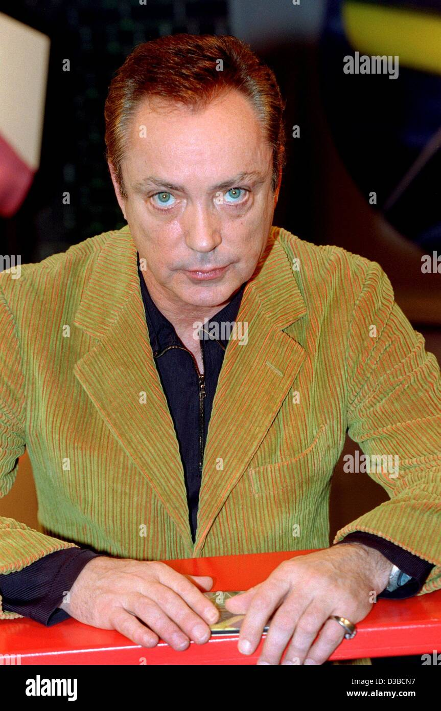 (dpa files) - German actor Udo Kier ('Armageddon', 'End of Days'), pictured in Cologne, Germany, - Stock Image