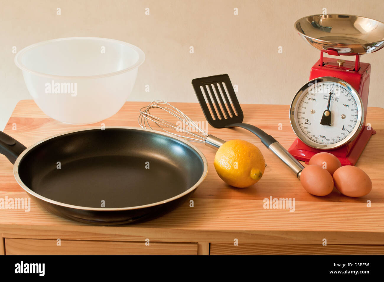 Baking and cooking - Stock Image