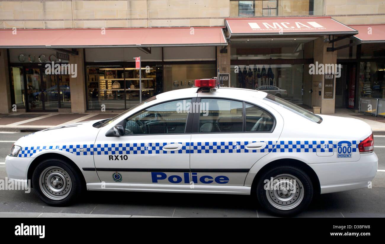 australian police car